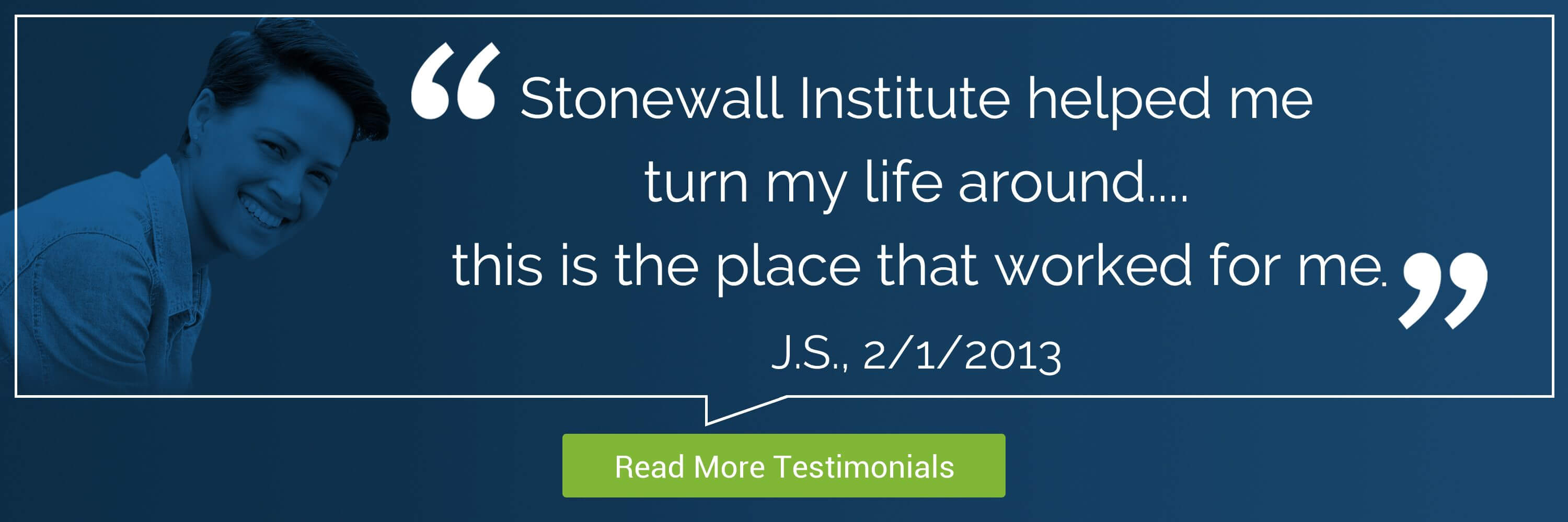 Stonewall Institute Testimonial