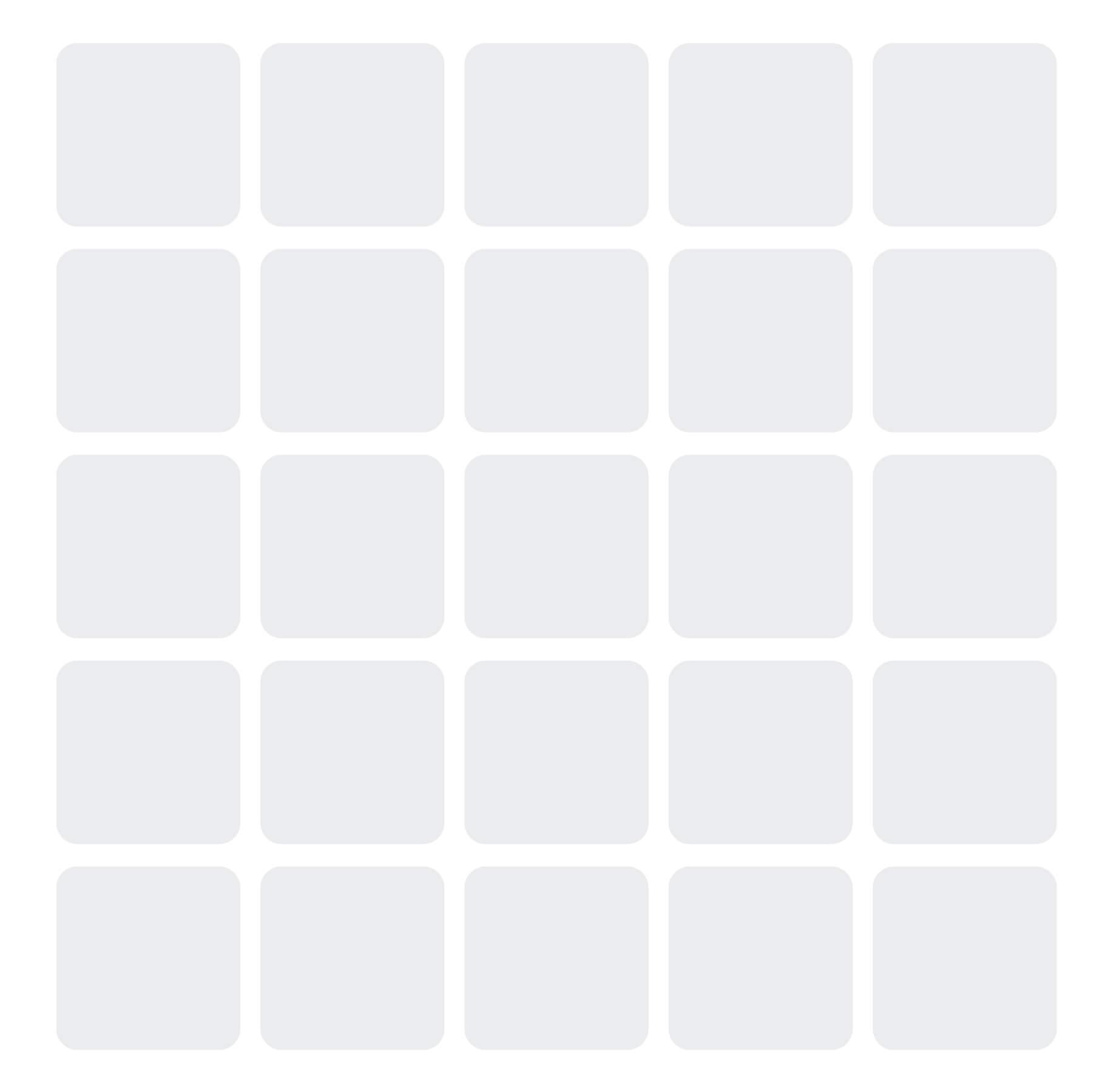 Gray squares